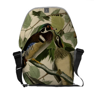 Summer or Wood Duck Courier Bags