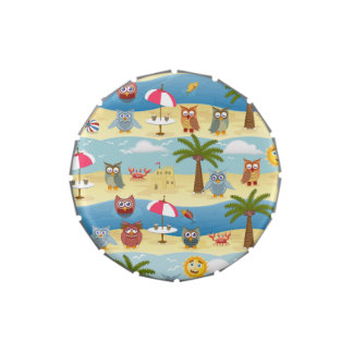 summer owls jelly belly tins