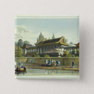 Summer Palace of the Emperor, Opposite the City of Pinback Button