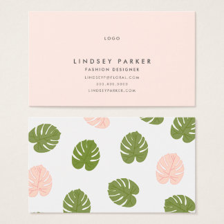Summer Palm Business Card