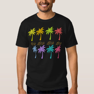 Summer Palm Trees Mens Tee