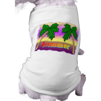 Summer Palm Trees T-Shirt