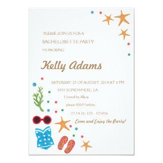 Summer Paradise Bachelorette Invitation Party