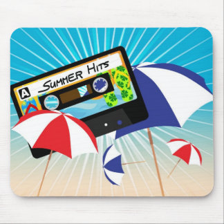Summer Party Mouse Pad