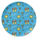 Summer Party Plates