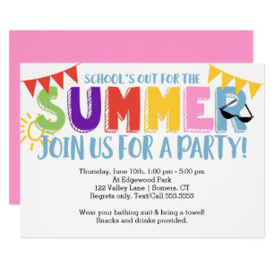 end of year party invitations zazzle