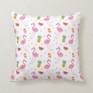 Summer Party Throw Pillow