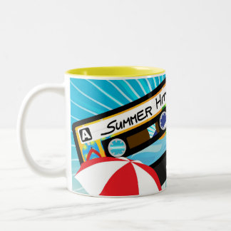 Summer Party Two-Tone Coffee Mug