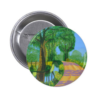 Summer Path Pinback Button
