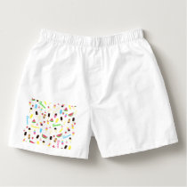 Summer pattern boxers