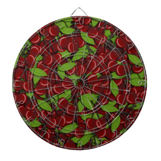 Summer pattern - Cherries Dart Boards