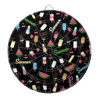 Summer pattern dartboard