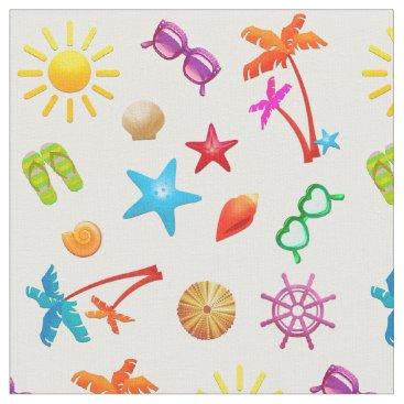 Summer Pattern Fun in the Sun  Fabric