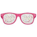 Summer pattern retro sunglasses