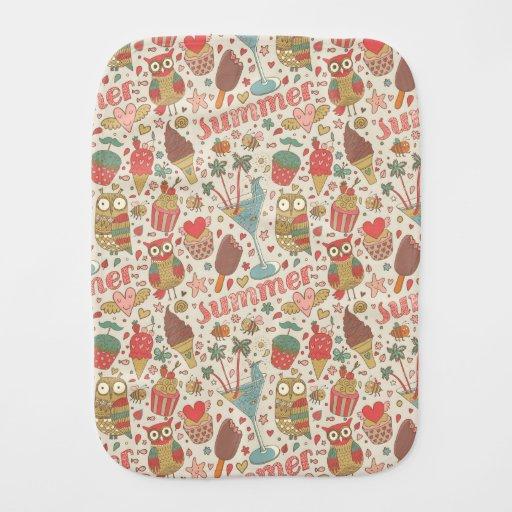 Designer S Pattern Soft Cream Zigzag Crochet Baby Blanket ...