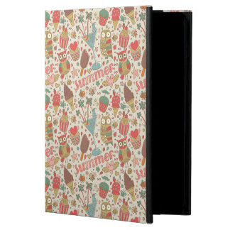 Summer Pattern With Ice Cream Cover For iPad Air