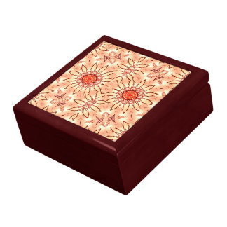 Summer Petals Lacquered Gift Box
