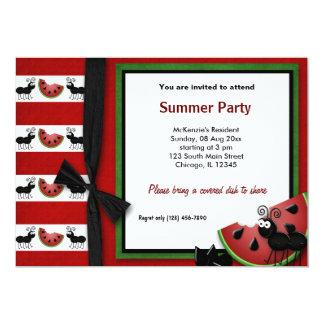 Summer Picnic 5x7 Paper Invitation Card