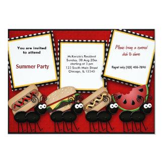 Summer Picnic Card