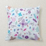 """Summer Picnic"" Purple Pillow Your American MoJo P"