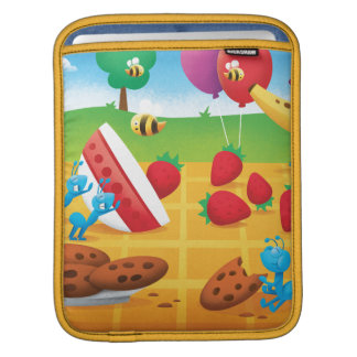 Summer Picnic Sleeve For iPads
