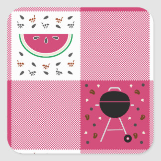 Summer Picnic Sticker