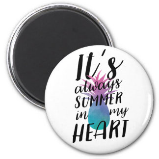 Summer Pineapple Magnet