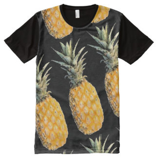 summer pineapples pattern All-Over print t-shirt