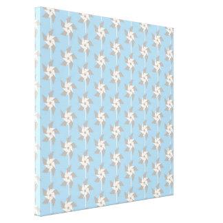 Summer Pinwheels Canvas Print