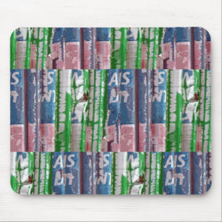Summer Plaid for the Frisbee Golf Set Mouse Pad