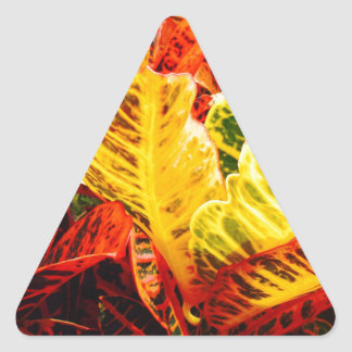 Summer Plant Triangle Sticker