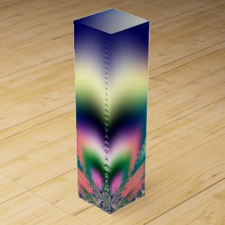 Summer Pleasure Fractal Wine Box