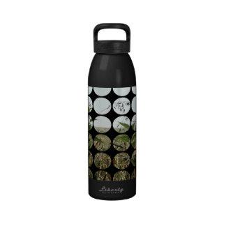 Summer Polka Dots Fields & Skies Drinking Bottle