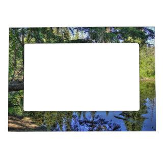 Summer Pond Magnetic Picture Frame