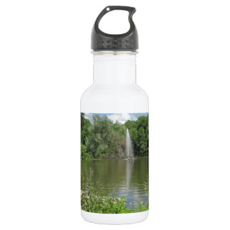Summer Pond with Fontaine 18oz Water Bottle