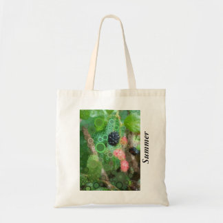 Summer Pop Art Wild Blackberry Party favors Tote Bag