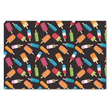 Beach Themed Summer Popsicles and Ice Cream Birthday Party Tissue Paper
