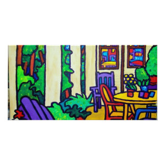 Summer Porch by Piliero Card