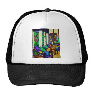 Summer Porch by Piliero Trucker Hat