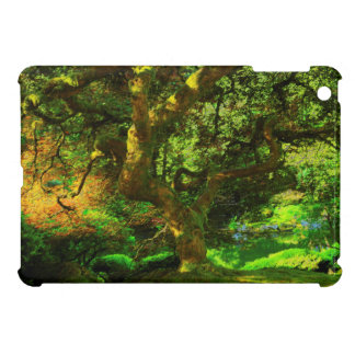 Summer, Portland Japanese Garden, Portland Cover For The iPad Mini