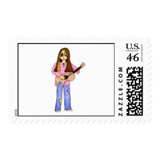 Summer Postage Stamp