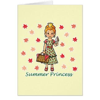Summer Princess Card