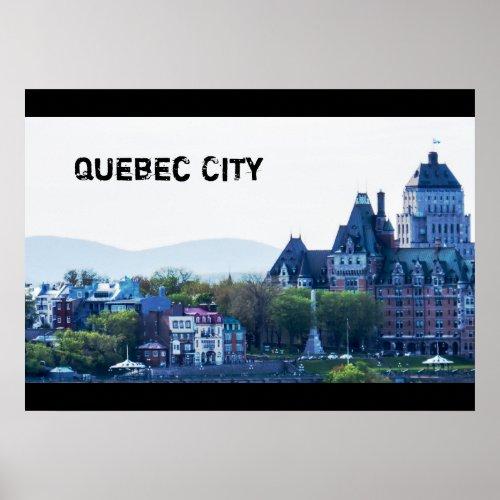 Summer  Quebec City Poster