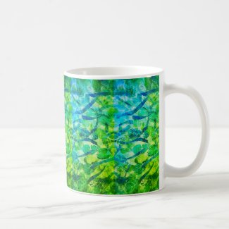 Summer Quencher Design on Coffee Mug