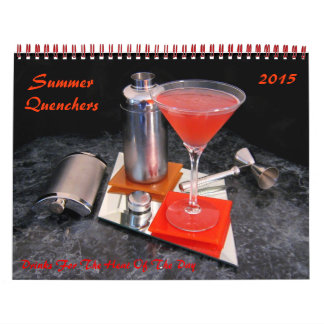 Summer Quenchers Calendar