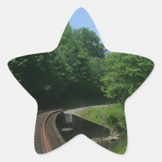 Summer Rails Star Sticker