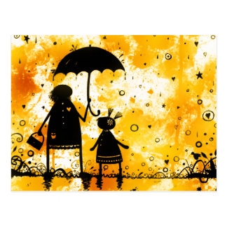 Summer Rain Postcard