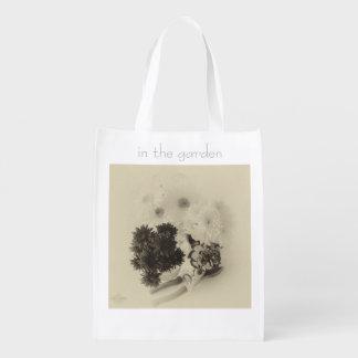 Summer re-useable bag grocery bag