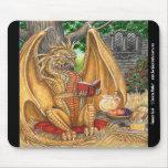 Summer Read Dragon Mousepad