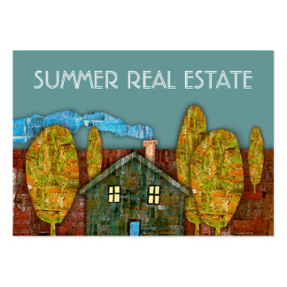 """Summer Real Estate"" Business Card"